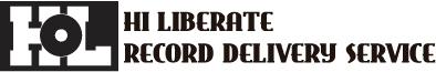 HI LIBERATE record delivery Logo